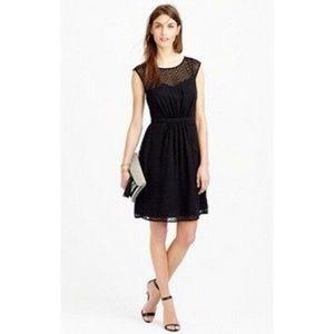 J.Crew Sleeveless Chiffon Dress ZigZag Size 12 Q73